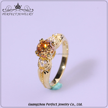 Factory customized cheap price simple style fashion women accessories latest gold finger ring designs