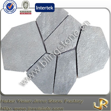 Natural grey slate flagstone patio tile