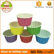 2015 Selling Hot Roll Mouth Muffin Cups Export Paper Cup