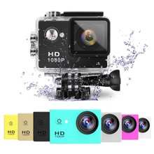 Wholesale Action Camera A9 Waterproof Underwater 30 Diving 12MP Lens Sport Cam Mini 1080p Full HD Sports Camera