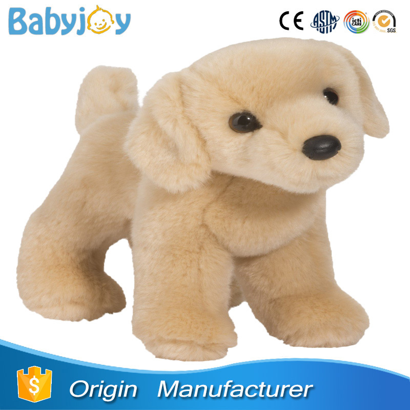 cute plush labrador dog toy, labrador soft toy