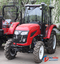 4wd 55hp orchard farming diesel tractor for sale
