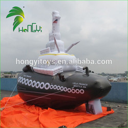 2016 Hot Sale Custom Design Inflatable Tugboat Shape Model / Customized Inflatable Product Model For Advertising And Decoration