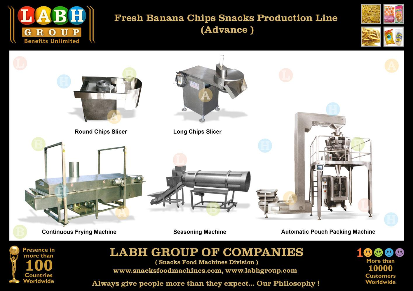 High Standards Fine Quality Banana Chips Producing Equipment c592abb