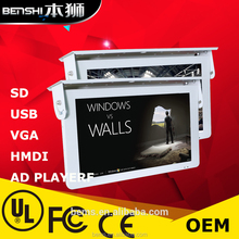 17/18/19/20/21inch led screen display/xxxx videos/taxi display screen 3g/4g roof led tv for car taxi monitor
