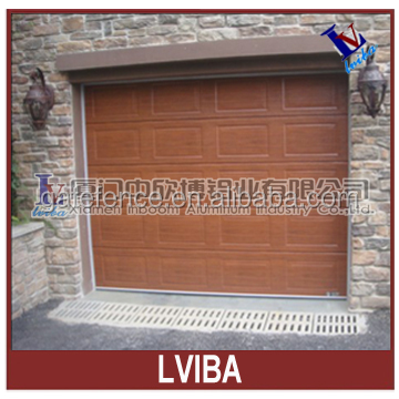 High quality and no rusty aluminum garage door & wood garage door panels sale
