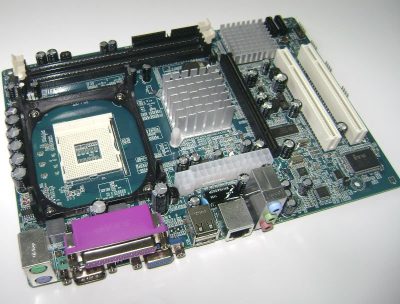 G41-775 cheap price Intel G41 775 pin motherboard with XEON CPU on board