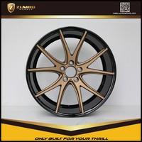 ZUMBO-A0073 Two Tone Car Aluminum Alloy Wheel