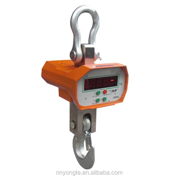 OCS model chinese electronic 5t digital hanging scales