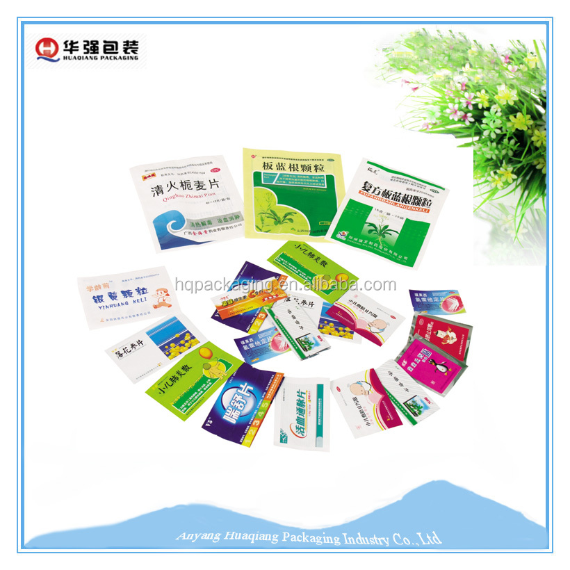 Pharmaceutical Aluminum Foil bag for medicinal Packaging