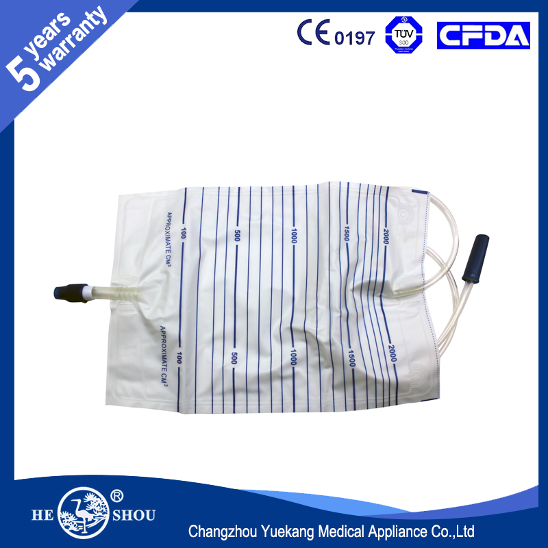 CE Aproved Urine Drainage Bag Urine Container Manufacturer