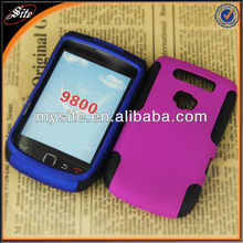 for blackberry torch 9800 hot design hard silicone combo case
