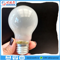 Professional 75w frosted incandescent lamp with CE certificate