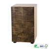 China handmade crafted percussion flamed maple percussion cajon drum box,adult use musical drum set tabla