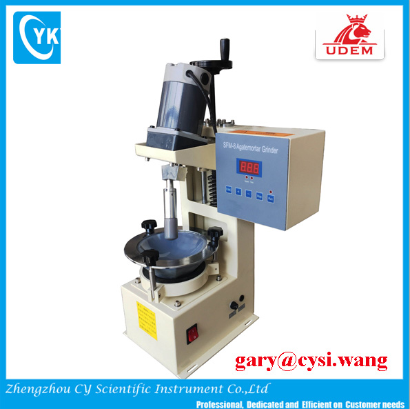 CY-Hot Seller!Automatic desktop grinder for soil sample with mortar and pastel setup for lab research