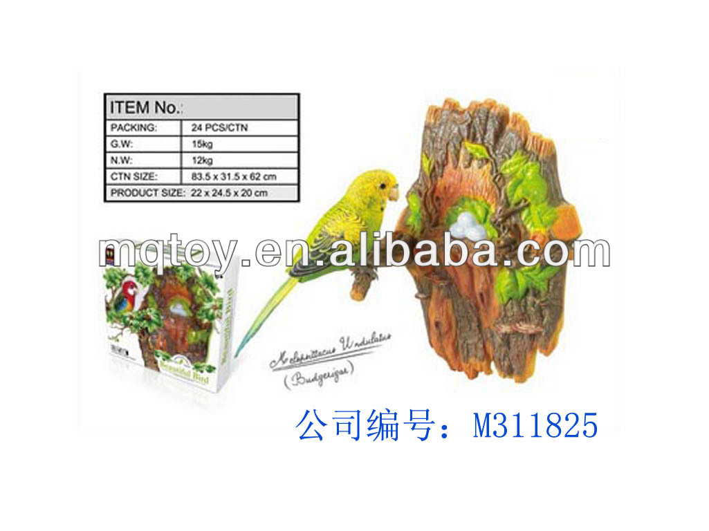 beautiful tiger skin vioce control parrot heartful bird