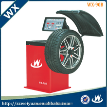 Most Popular Machine Automatic Used Wheel Balancer, Used wheel alignment machine for sale WX-90B