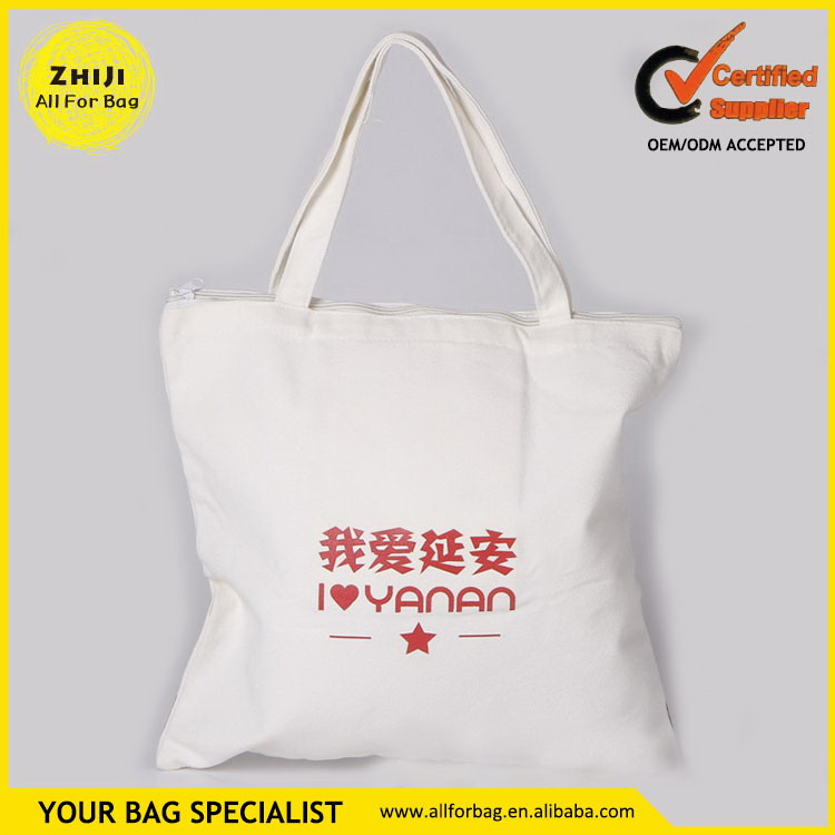 Competitive price top sell women cotton canvas tote bag