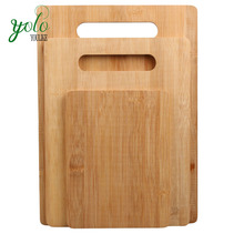Wholesale kitchen 3 different size wood bamboo cuttiing board