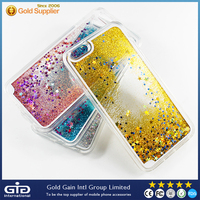 Dynamic Fluid Glitter Crystal Star Case for iPhone 6s