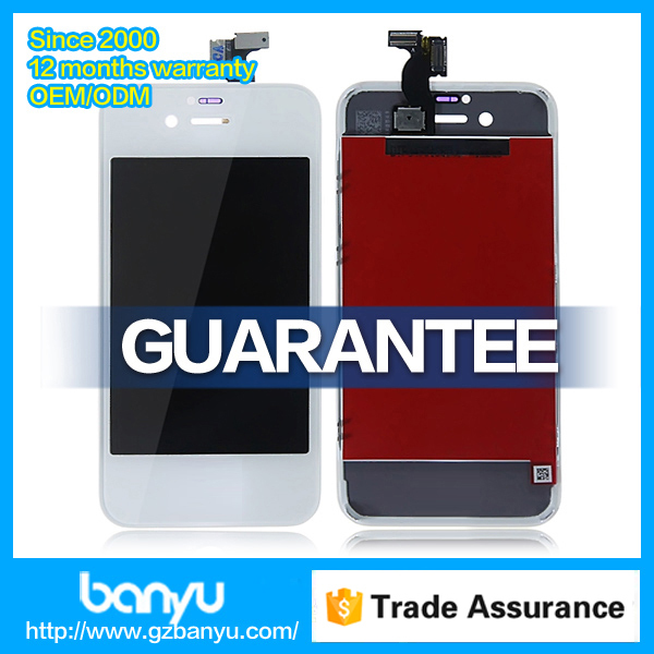 365 days warranty cell phone lcd assembly screen spare parts for iphone 4s
