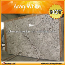 hot sale Aran White marble slab low price for sale