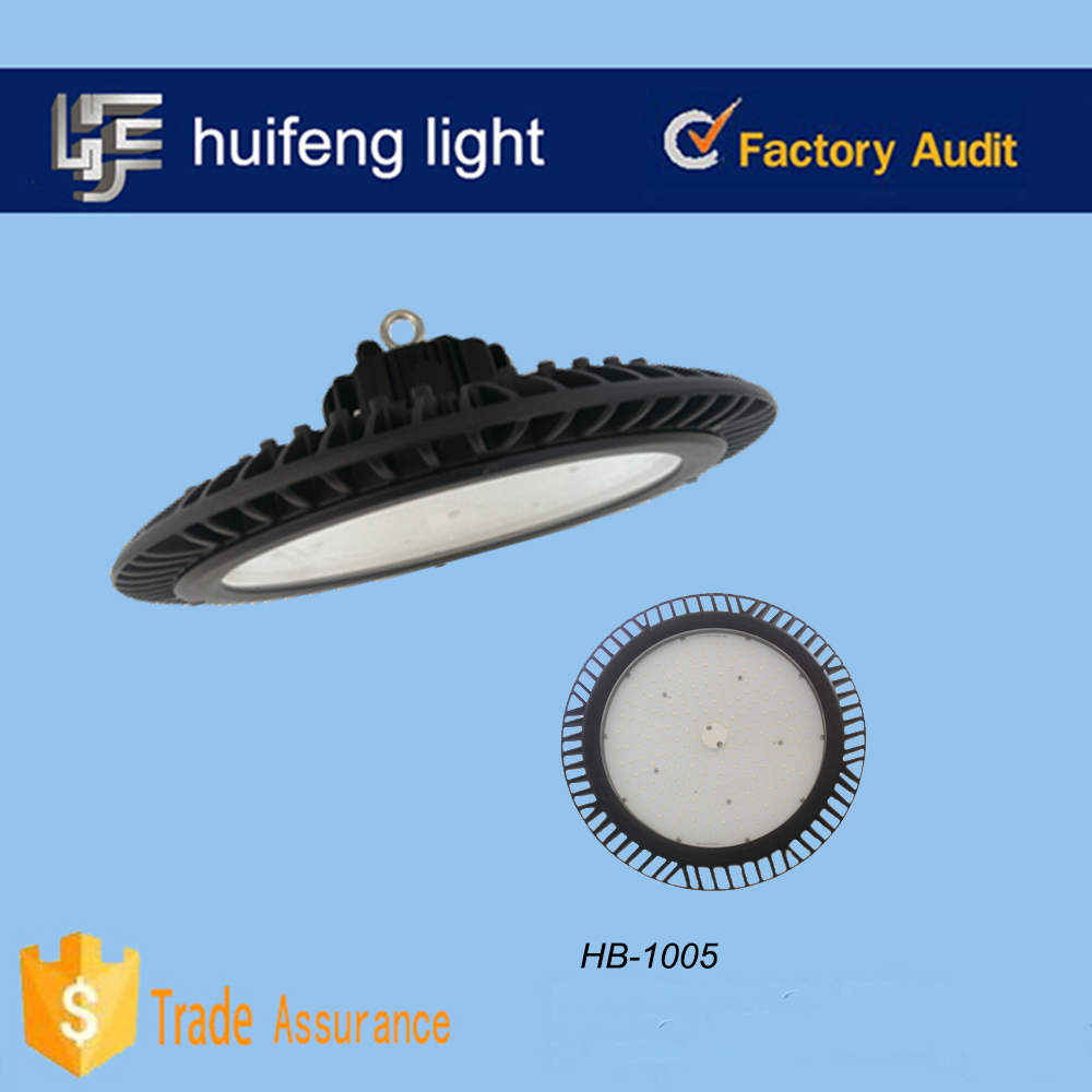IP65 Tempered glass or PC cover UFO led high bay light