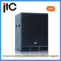 Cheap price professional 15 inch subwoofer speaker box design