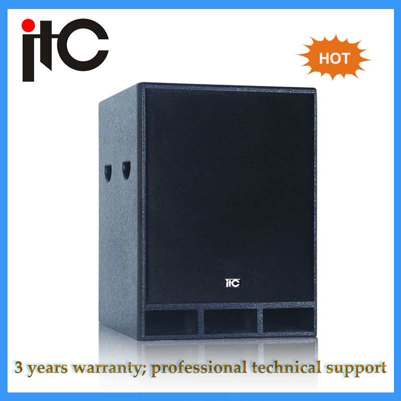 ITC T-615S Cheap price professional 15 inch subwoofer speaker box design