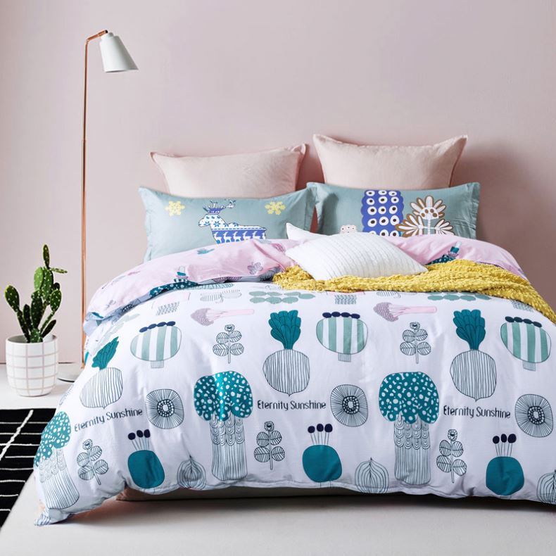 2017 new China Manufacturer fancy bed cover hot sales