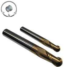 solid carbide end mill ball nose mills /ball end milling cutters
