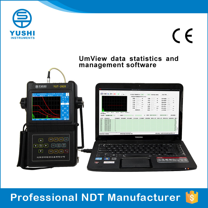 YUSHI YUT 2820 Digital Portable Ultrasonic Defect Detectors For Oil & Gas Pipelines