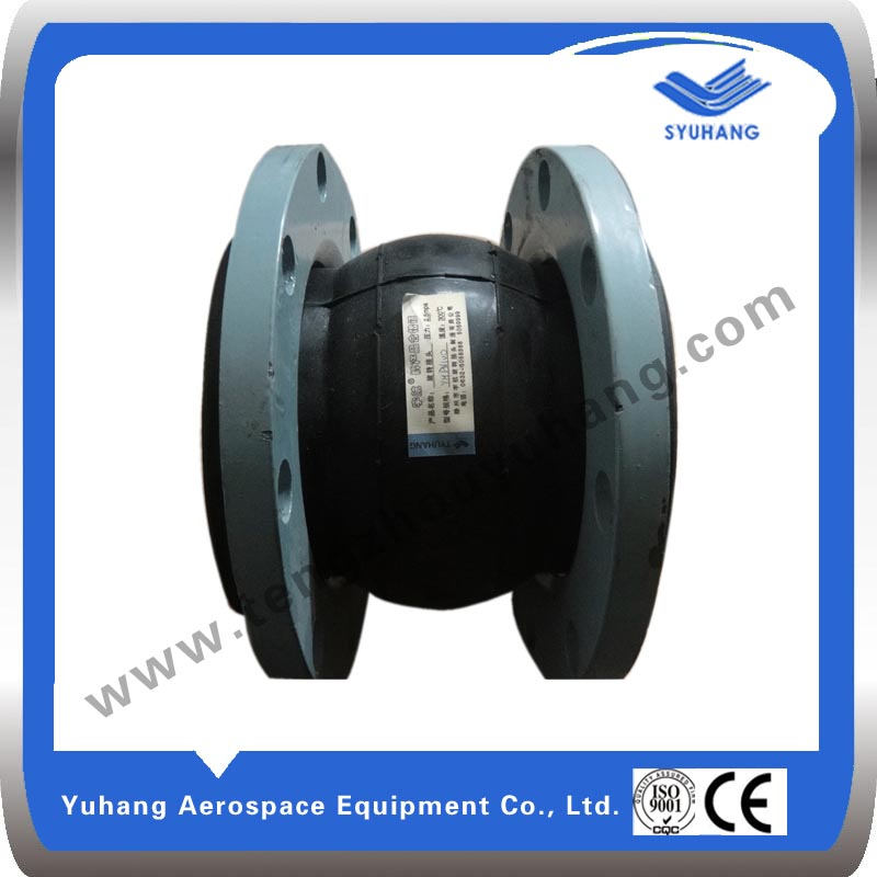 Yuhang Brand Single Sphere rubber expansion joints High vibration absorbing ability
