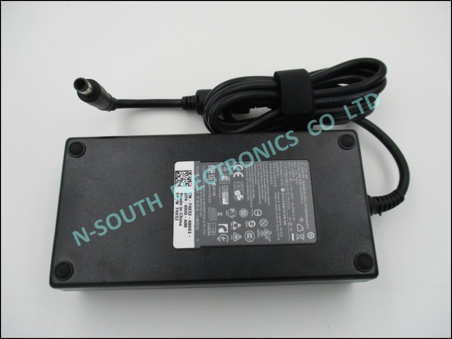 Laptop ac adapter for dell precision m4600 m4700 m4800 180w 19.5v 9.23a 74x5j
