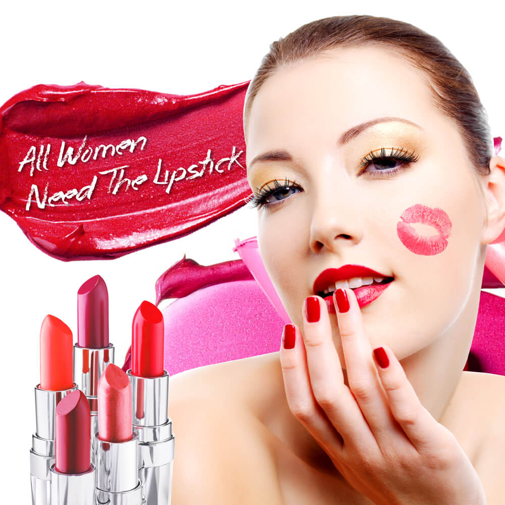 Hot sale beauty makeup beneficial for your lips vibrant rose lipstick