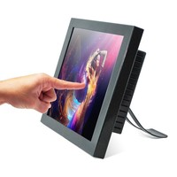 15 inch industrial touch screen all in one pc / POS / computer / all in one barebone pc (factory/manufactory )