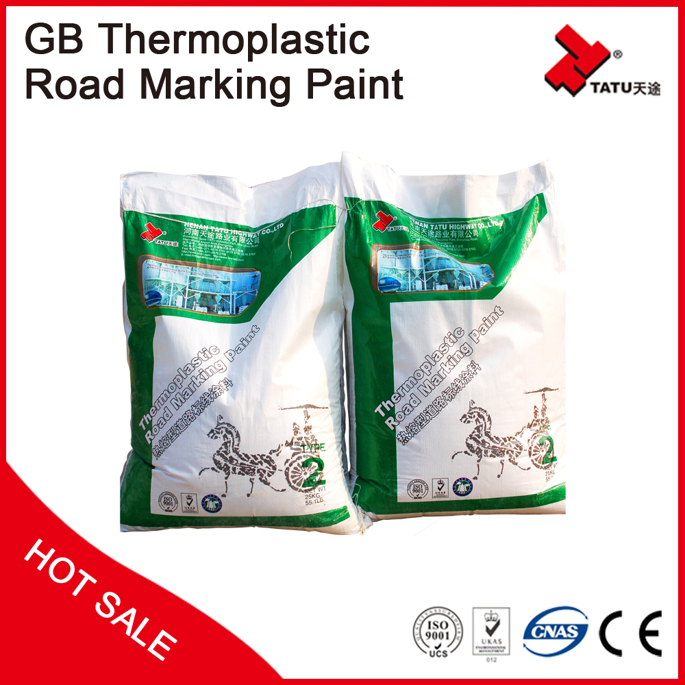 Chinses Thermoplastic Road Marking Paint | Hot Melt Traffic Paint