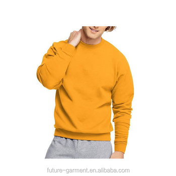 Fitness Pullover Men Leisure Spandex Sweatshirt Custom