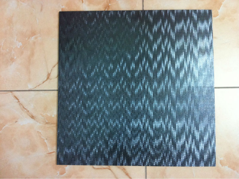 600*600 Ceramic Tile 6JS039 Quality Metallic Glazed Anti Slip Waved Pattern Bathroom Decor With Good Price