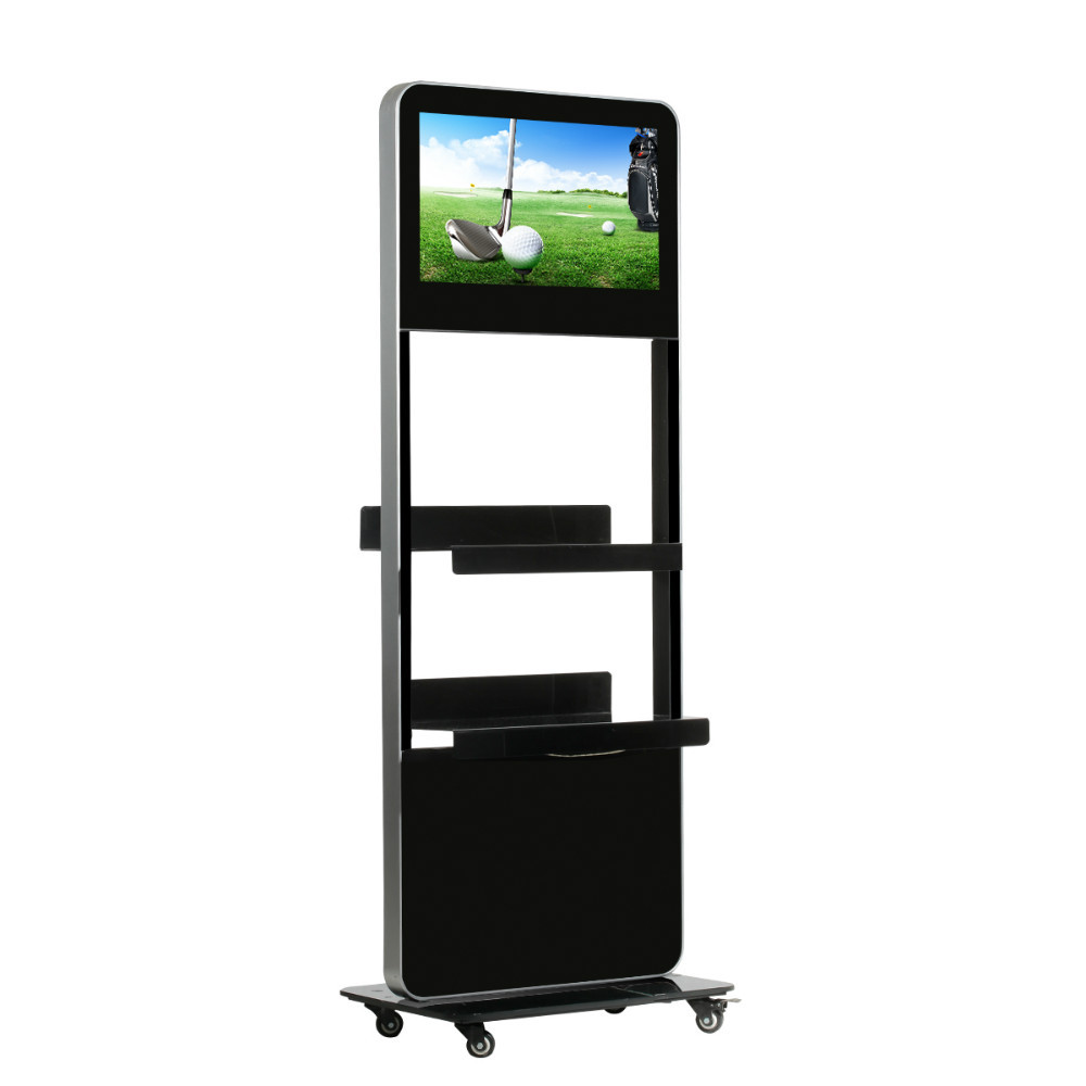 "24"" PC Advertising Display Supermarket Shelf"