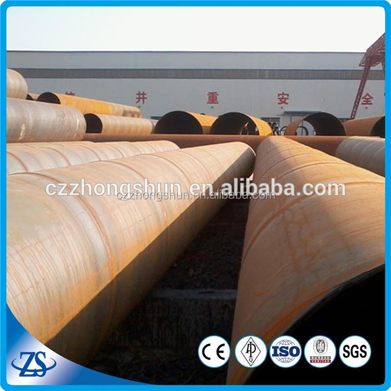 dn 400 std carbon ST52 LSAW steel pipes formed steel tubes