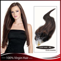 hot sell human hair extension in dubai Russian micro loop ring hair extension
