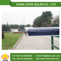 high power output solar water heater system for homes