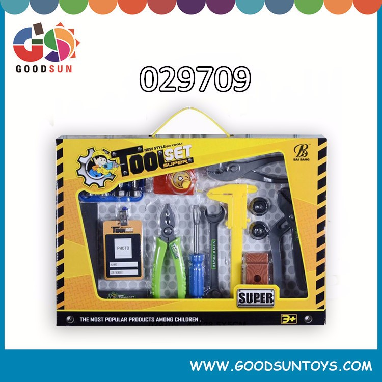Hot sale kids plastic tool box set,Plastic construction tool set toy,Educational toy