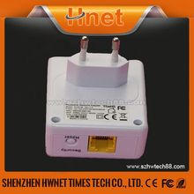 china supplier 500mbps wireless plc wallmount powerline adapter with Atheros AR9341 wifi module