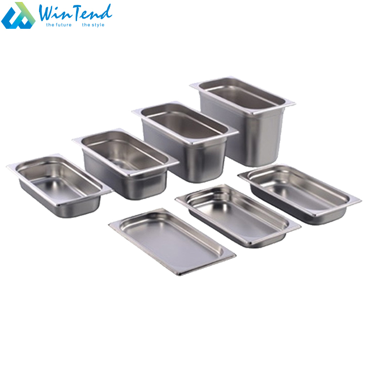 Full set gastronorm tray 1/3 gastronorm containers size with all sizes
