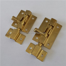 "2"" Inch Barrel Bolt Gate Shed Door Sliding Lock Latch Brass plated"