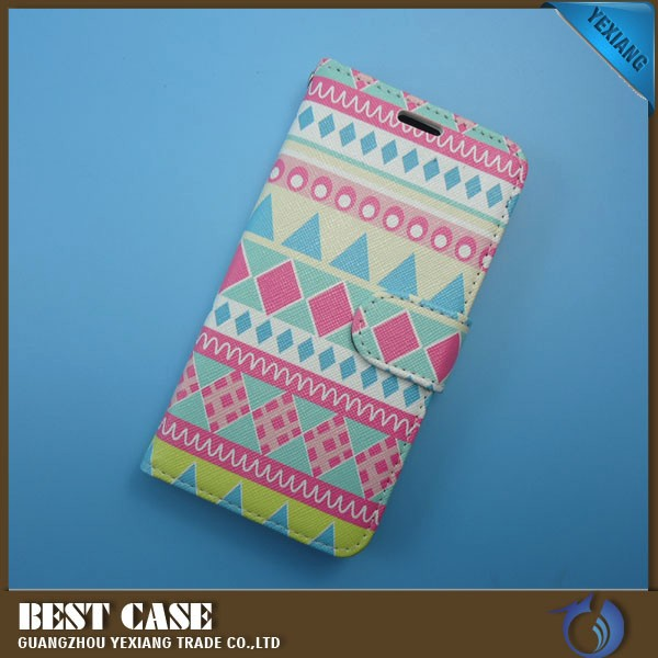 wholesale custom design case cover for motorola droid turbo flip leather case