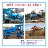 2014 new model trommel screen for small scales gold mining equipment