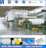 Manufacturer wood pulp and OCC waste paper recycle to make printing A4 paper making machine